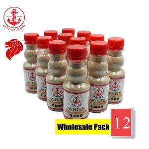 [Bundle of 12] Anchor 100% White Pepper Powder 100g
