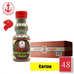 [Carton of 48] Anchor Ground Black Pepper 100g