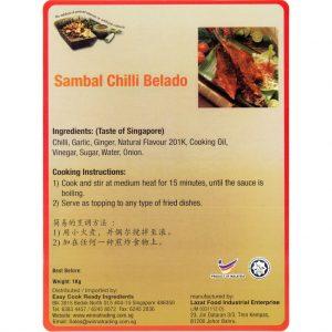 Easy Cook Sambal Chili Belado Paste 1kg