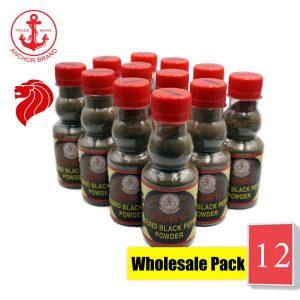 [Bundle of 12] Anchor Ground Black Pepper 100g