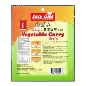 East Cook Nonya Vegetable Curry Paste 200g