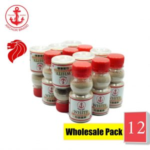 [Bundle of 12] Anchor White Pepper Powder 50g